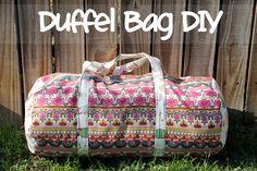 punk projects: Duffel Bag DIY