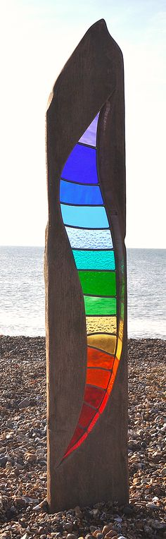 Current work by stained glass artist Louise V Durham