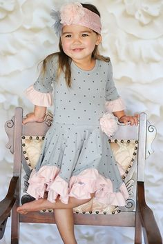Giggle Moon Graced Hanky Dress for Girls & Girls Boutique Dresses, Dresses Kids Girl, Girls Party Dress, Baby Dress, Toddler Dress, Designer Baby Clothes, Cute Outfits For Kids, Children Outfits, Children Clothing