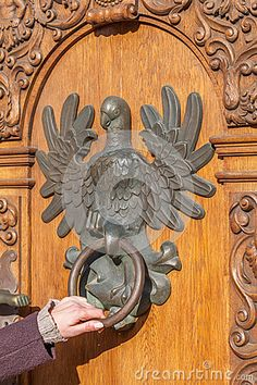 .polish eagle door knocker
