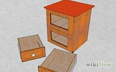 Step by step painting laminate wood furniture