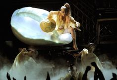 Lady Gaga 53rd Grammys Egg Womb