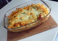 Tejszínes rakott cukkini darált húsból   Eszter Lakó receptje - Cookpad receptek Macaroni And Cheese, Ethnic Recipes, Food, Mac And Cheese, Essen, Meals, Yemek, Eten