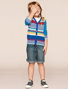 Want This Whole Outfit The Striped Cardigan Tomboy Jean Shorts And Even Shoes
