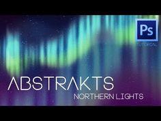 "Abstrakts ""Northern Lights"" Photoshop Tutorial - YouTube"