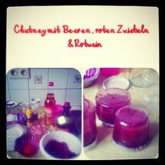 Beeren Chutney mit Rotwein