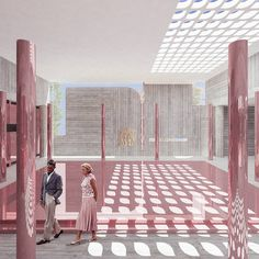 Proposal for the new archaeological museum of Spart Architecture Panel, Baroque Architecture, Architecture Visualization, Historical Architecture, Beautiful Architecture, Architecture Design, Architecture Graphics, Architecture Drawing Sketchbooks, Competition