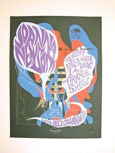 Joanna Newsom: Concert Poster for Joanna Newsom