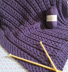 A blanket has no name Knitting Stiches, Knitting Books, Knitting Yarn, Knitting Projects, Baby Knitting, Knitting Patterns, Plaid Crochet, Crochet Baby, Knit Crochet