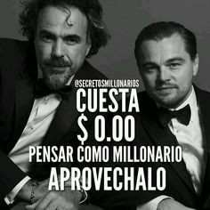 #Repost @secretosmillonarios  #secretosmillonarios CUESTA $0.00 dólares pensar como millonario no lo desaproveches.  #mentesmillonarias #luxury #exito #motivation #libertadfinanciera #emprendedor #colombia #repost #2016 #metas #frases #2016 #emprender #Emprende #dinero #money #gratis #free #negocios #wallstreet #metas #libros