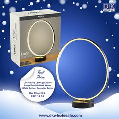Warm white LED cirlce light with black frame >Double side flex neon tube >Black frame >Warm white LED >29.6 x 10.5 x 32.5cm >3 AA batteries required (not included) >6 Hours On / 18 Hours Off >6 Hours On / 18 Hours Off. Domestic Appliances, Fruit Juicer, 18 Hours, Bedside Table Lamps, White Lead, Light Table, Tube, Neon, Warm