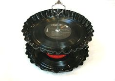 2 Tier Vinyl Record Album Cake Stand - Custom You Choose Artist(s)