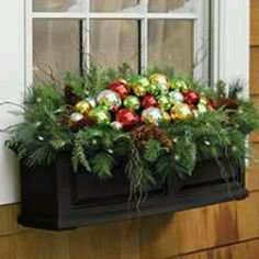 What a great idea for window flower boxes:)