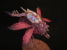 Dark Future Games: It Came From The Forums: Insane Slaanesh Conversions from Miniature Bases, Chaos Daemons, Future Games, Tyranids, Fantasy Battle, Custom Paint Jobs, Warhammer 40000, Tabletop Games, Space Marine