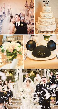 Wedding Inspiration Board Pictures, cute love minnie and mickey :)