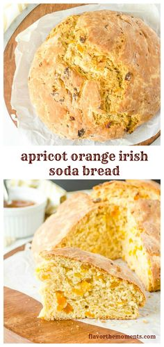 apricot-orange-irish-soda-bread-collage | flavorthemoments.com
