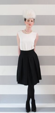 perfect wool skirt  $42