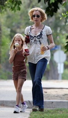 Actress Felicity Huffman in Odd Molly blouse