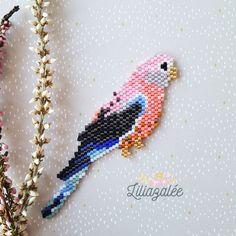 Lighthouse sea brooch necklece PDF pattern for miyuki delika brick stitch peyote seed beads beading pattern Bead Crochet Patterns, Beaded Bracelet Patterns, Beading Patterns, Mosaic Patterns, Color Patterns, Art Patterns, Embroidery Patterns, Knitting Patterns, Miyuki Beads