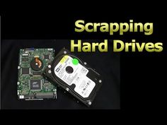 How to recover data from a hard drive (stuck heads: buzzing, clicking, etc) Electronic Scrap, Electronic Circuit Board, Scrap Recycling, Scrap Gold, Diy Tech, Data Recovery, Diy Electronics, Work From Home Jobs, Home Repair