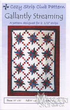 Gallantly Streaming Pattern from Missouri Star Quilt Co