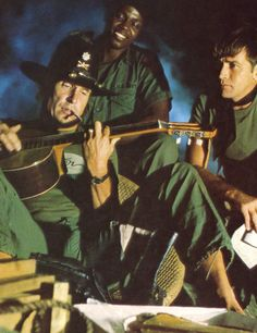 Duvall and Sheen in Apocalypse Now.