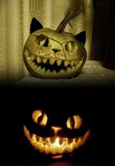 Awesome jack-o-lantern