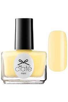 Lauren Conrad's Summer Nail Polish Picks #refinery29  http://www.refinery29.com/lauren-conrad/158#slide-4  Creamy YellowLet your nails be sunny with a high of 75 this season. Think poolside lemonade or chilly piña colada. Ciaté London's Loop The Loop is a combination of the two, with a hint of sunshine.
