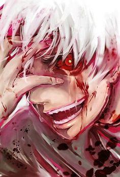 Ken kaneki aun recuerdo cuando lo torturaron   :(  :)  :(