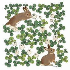 Rabbit Drawing, Rabbit Art, Japanese Drawings, Japanese Artists, Melencolia I, Bunny Art, Cute Illustration, Animal Drawings, Art Day