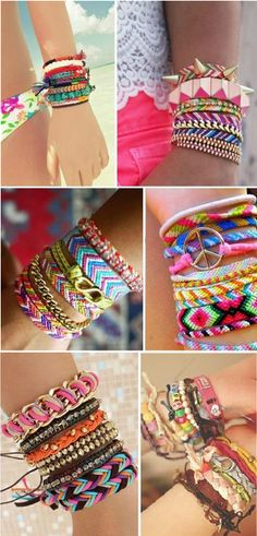 Cool String Bracelets – Practical Ideas How to Make Them