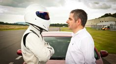 Rowan Atkinson squares off with the Stig #TopGear