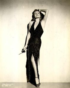 Rita Hayworth from Old Hollywood