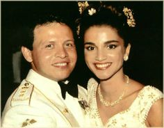 Wedding of Prince Abdullah Al Hussein and Miss Rania Yassin