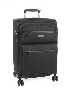 Travel in style with this sleek carry-on softshell bag which has a protective coating. Cellini Grande in Forest Green and Carry On Luggage, Softshell, Travel Style, Carry On Bag