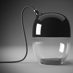 Details welike / Cable / Black and white / Transparent / Lamp / at Design Binge