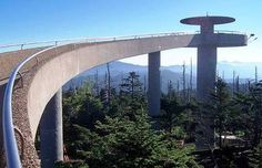 Most Beautiful Natural Places Tennessee | Clingmans Dome Tennessee Top 10 Most Beautiful Places to Visit in ...