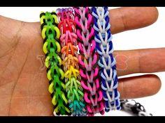 Knitting Patterns Toys How to Make a Rainbow Loom Tribal Fishtail Bracelet – EASY Rainbow Loom Tutorials, Rainbow Loom Patterns, Rainbow Loom Creations, Rainbow Loom Bands, Rainbow Loom Charms, Rainbow Loom Bracelets Easy, Loom Band Patterns, Loom Bracelet Patterns, Knitting Patterns