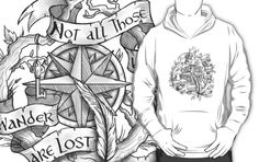 """Not all those who wander are lost"" by Rose24601"