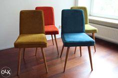 Krzesło w stylu PRL