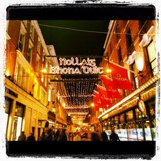 Dublin at Christmas time