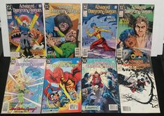 DC COMIC LOT OF 8 ADVANCED DUNGEONS AND DRAGONS # 12 14 15 16 17 22 23 24 TSR