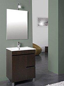 Conjunto De Mueble Lavabo Y Espejo Para El Bano Espejos Para