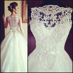 lace on top. Beautiful!