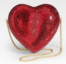 Judith Leiber..red..red...red..winter is ...red...
