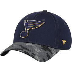 factory price dfc39 4508f Men s Navy St. Louis Blues Camo Adjustable Hat