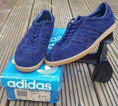 3a71b346b9fc2 Stunning pair of French made Tobacco Adidas Og