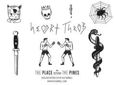 place beyond the pines tattoos - Google Search