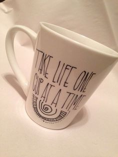 Take life at a cup of time