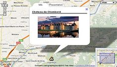 How to create a map to highlight touristic areas and information?